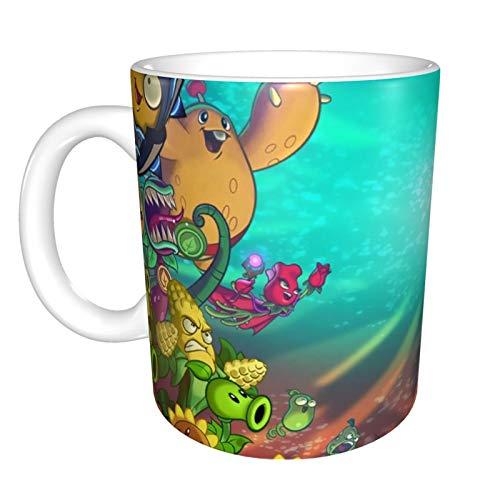 Portable Plants vs zombies tazze tazza di ceramica isolata tazza di caffè tazza con manico latte tazza per caldo cacao