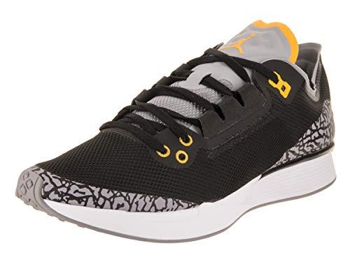 Nike Jordan Men's 88 Racer Training Shoe, Black/Varsity Maize, Size 11.0