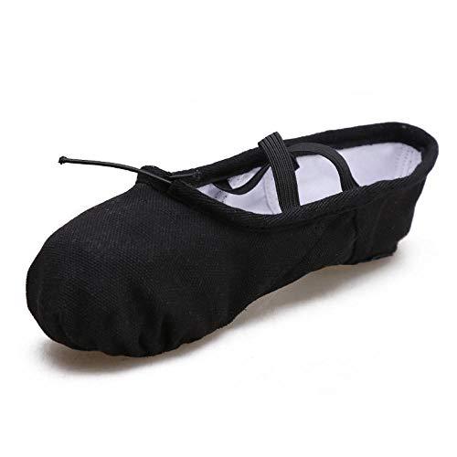 Chaussures de danse Femme Soft-Soled Hommes Chaussures d'exercice Enfants Chaussures de danse Adulte Deux Souliers Chat Griffe Chaussures de Yoga Chaussures Tissu Extensible - - 3, 35.5 EU