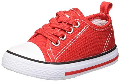 Beppi Baby Jungen Sapato Lona Bebe Sneaker, Rot, 23 EU
