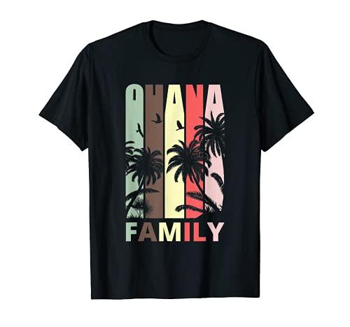 Hawaii Hawaiian Ohana Family Beach Aloha Vacaciones de verano Camiseta