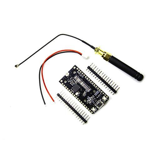 Lorenlli Für ESP32 SX1276 LoRa 868 / 915MHz-Modul WiFi-Funkmodul Elektronisches Entwicklungsplatinenmodul Mit Antenne