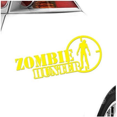 Kiwistar Aufkleber Zombie Hunter Fadenkreuz Jagd Killer Autoaufkleber Sticker Bomb Decals Tuning Bekleben Auto