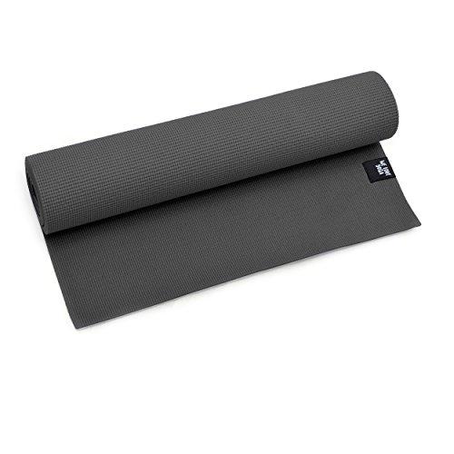 zenpower Yogamatte - We Love Yoga - 180 x 60 x 0,6 cm - Rutschfest & leicht, dünne Sportmatte für Zuhause: Pilates, Gymnastik u.v.m.