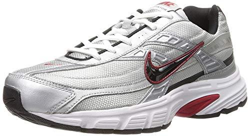 Nike Initiator, Scarpe Running Uomo, Grigio (Metallic Silver/Black/White 001), 43 EU