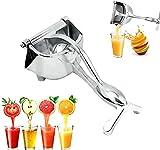 spremiagrumi manuale, portatile, spremiagrumi per frutta e limone, arancia e frutta, spremiagrumi, strumento per tutti i tipi di frutta senza scafo