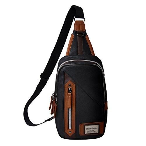 Ronde Men's Cross Body Bag. - -
