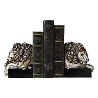 WHLMYH クリエイティブライオンブッカーデコレーション家の装飾アメリカの本棚本棚本工芸品の取り決め12X12X18Cm本棚