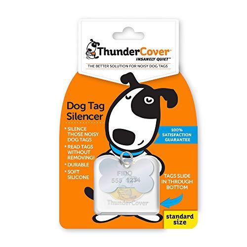 ThunderCover Dog Tag Silencer - Clear