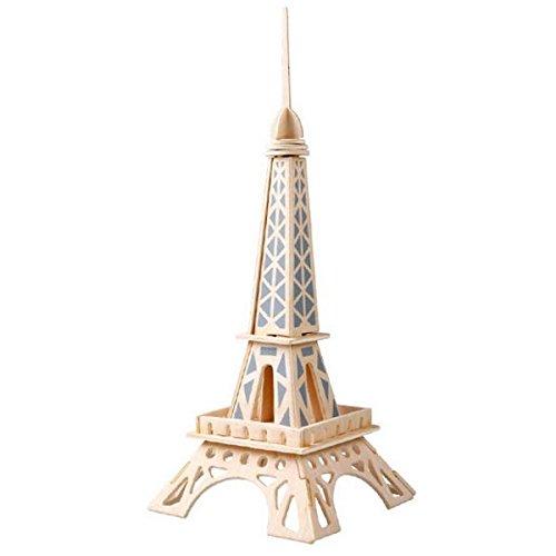 Innova® houten puzzel 3D houten puzzel Woodcraft Eiffeltoren hout modellier puzzel speelgoed cadeau