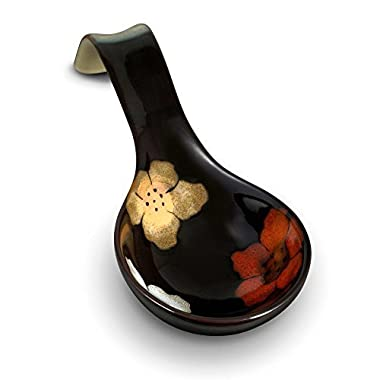 Pfaltzgraff Painted Poppies Spoon Rest