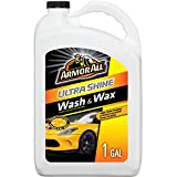 Armor All Ultra Shine Car Wash and Wax, Cleaning for Cars, Truck, Motorcycle, 1 Gallon, 19268