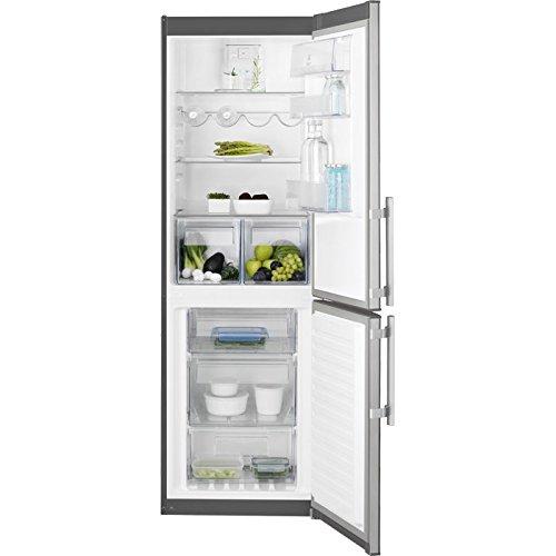 Electrolux RN3453OOX Libera installazione A+++ Acciaio inossidabile frigorifero con congelatore