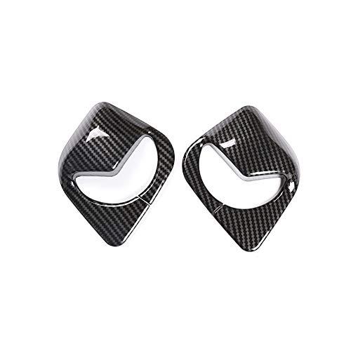 Wcnsxs pour BMW X3 G01 2018 2019 2020 intérieur de Voiture ABS Fiber de Carbone Avant Ceinture de sécurité Cadre Couverture Garniture Accessoires