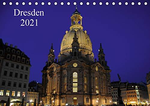 Dresden 2021 (Tischkalender 2021 DIN A5 quer)