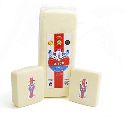 Brick- Wisconsin Cheese - Mild Brick Cheese (2lb)