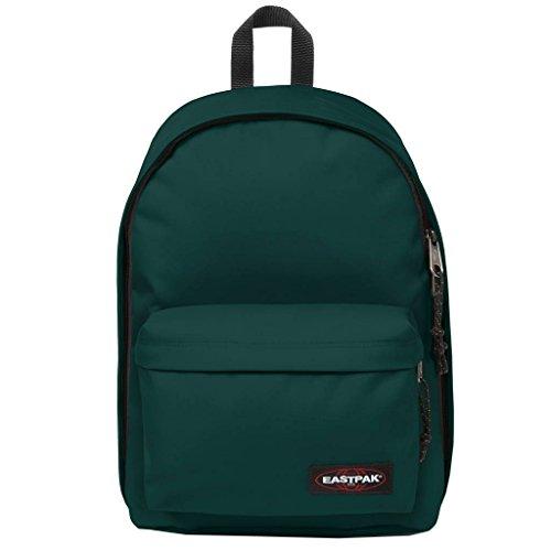 Eastpak Out of Office rugzak, polyamide, groen, uniform, unisex, 33 cm (13 inch), voorvak