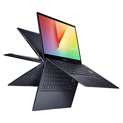ASUS VivoBook Flip 14 TM420IA-EC172 - Portátil de 14 ' FullHD (Ryzen 3 4300U, 8GB RAM, 256GB SSD, Radeon RX Vega 5, Sin Sistema Operativo) Negro - Teclado QWERTY español