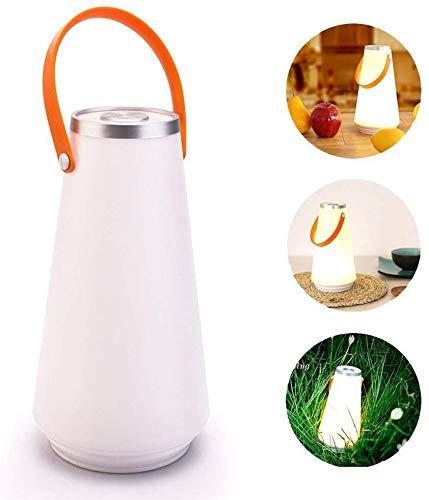 WYZXR draagbare draadloze lantaarn, oplaadbare USB-tafellamp met aanraaksensor voor nachtverlichting voor camping in de open lucht