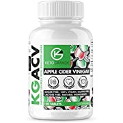 Keto Grande Apple Cider Vinegar Capsules 1000mg, Appetite Suppressant Keto Diet Supplement for Digestion and Immune Support, Vegan and Paleo Friendly, 120 Tablets