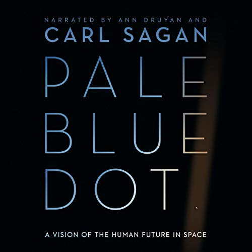 Pale Blue Dot audiobook cover art