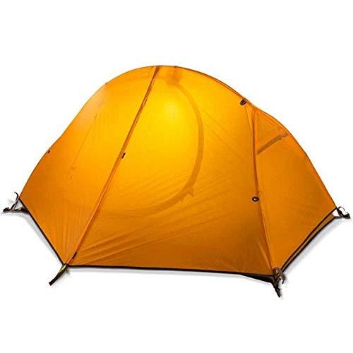 JUNYYANG Sola Persona al Aire Libre equitación Campamento Playa de Picnic Tienda de campaña de la Capa Doble de Velocidad Abierto Carpa Plegable portátil a Prueba de Agua y Parasol Canopy