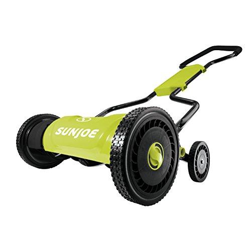Sun Joe MJ1800M 18″ Quad-Wheel, Silent Push Reel Mower Review