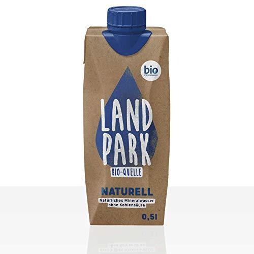 Landpark Bio-Quelle Naturell Mineralwasser still 12 x 0,5l, Pfandfrei
