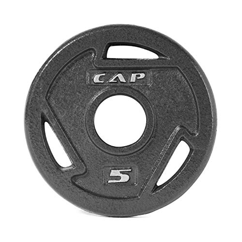 CAP Barbell 2-Inch Olympic Grip Plate, 25 Pounds