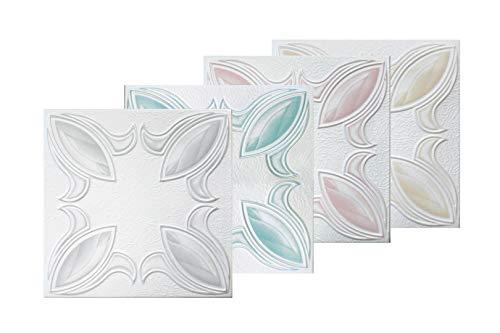 20 qm | Deckenplatten | XPS | formfest | Hexim | 50x50cm | NR.57 TR