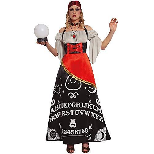 FIESTAS GUIRCA ADIVINA Disfraz de Halloween Mujer Talla S