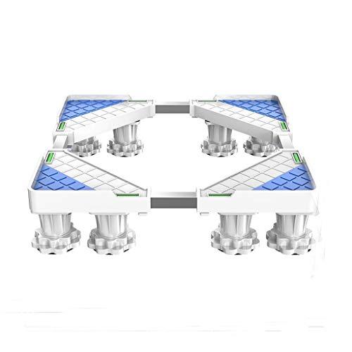 DTZDLL Automatische Waschmaschinenbasis Lärmreduzierung Der Waschmaschine Bodenplatte Hoch Feuchtigkeitsbeständige Halterung Haushaltsgeräte-Basis (Size : B)