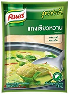 Knorr Thai Green Curry Complete Recipe Mix 35g. Pack of 10