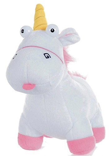 PTS Fluffy - Peluche de Unicornio «GRU, M», 18 cm, Original Despicable Me