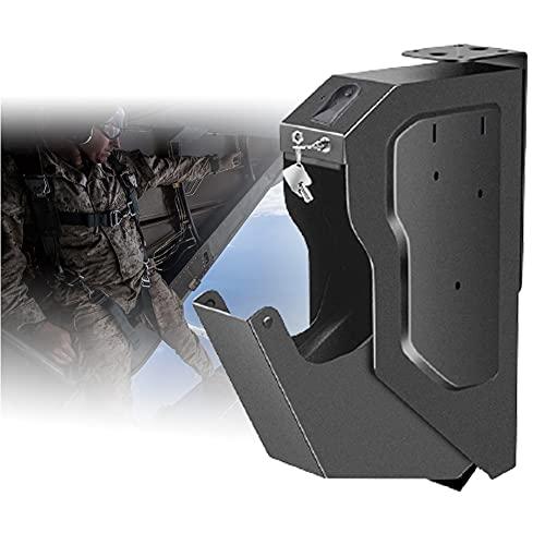 HNWTKJ Portátil Cajas Fuertes camufladas para pequeños, Arma Corta, Caja Fuerte Compacta Biométrica, Apertura con Huella Dactilar para Objetos de Valor