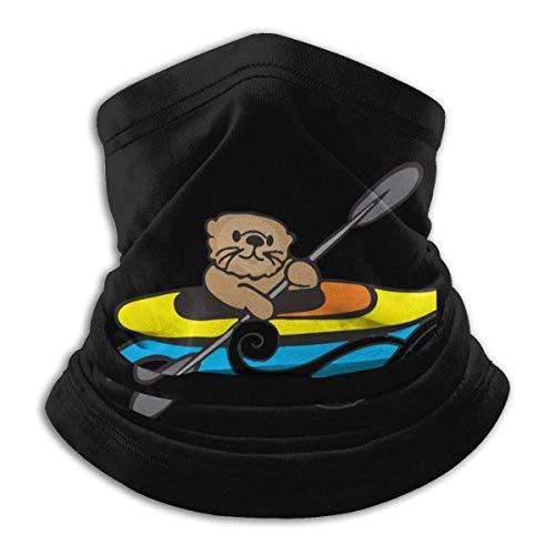 Bklzzjc Neck Gaiter Warmer Otter Kayak Hommes Femmes Face Cover School Headwear Coupe-Vent Neck Gaiter Neck Warmer Motocyclisme Travail