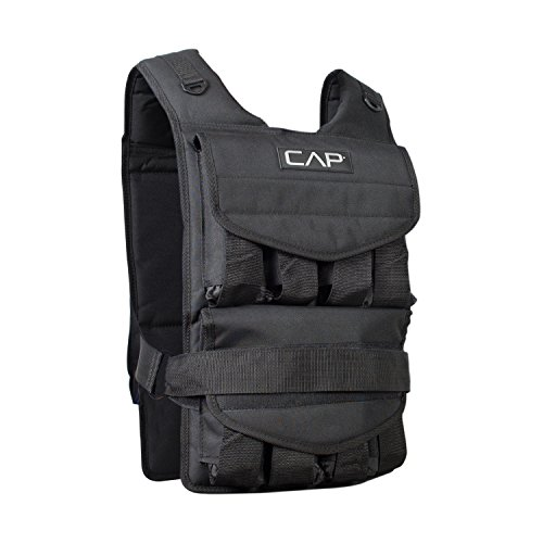 CAP Barbell 20-150 Lb Adjustable Weighted Vest