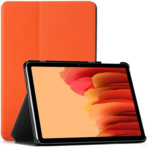 Forefront Hülles Hülle für Samsung Galaxy Tab A7 10.4 - Schutz Galaxy Tab A7 Hülle Ständer - Orange - Dünn und Leicht, Smart Auto Schlaf/Wach, Samsung Galaxy Tab A7 10.4 Zoll 2020 Hülle, Tasche