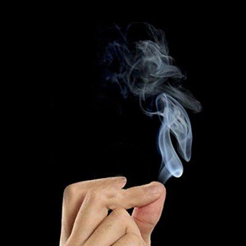 ddellk Finger Smoke Magic Paper, 10pcs Magic Prop Magic Smoke von Finger für Magier Trick Stage Zubehör