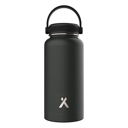 BEAR GRYLLS 32oz Midnight Black Triple Wall Vacuum Insulated Water Bottle for 12 Hours Hot   24 Hours Cold, BPA Free