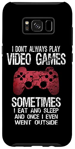 Galaxy S8+ Funny Gamer Quote Video Games Gaming Gift Boys Teens Men Case