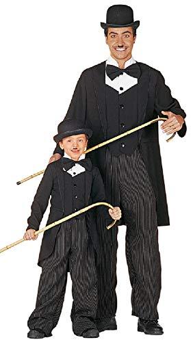 W5463-52 - Disfraz de cmic para hombre, talla 52, color negro