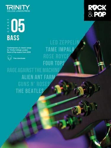 Trinity Rock and Pop Bass Grade 5