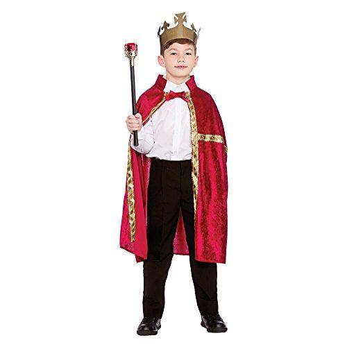 Deluxe King/Queen Robe & Crown Burgundy (8-10) **NEW**