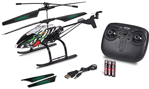 Carson 500507149 Easy Tyrann 290 Snowbeast – Helicóptero teledirigido para Exterior, RTF Resistente al Agua, con Patines Grandes para Nieve, para niños a Partir de 12 años