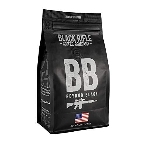 Black Rifle Coffee Whole Bean (Beyond Black (Dark Roast), 12 Ounce)