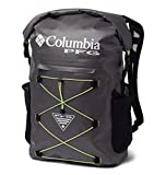 Columbia Unisex Force XII 35L Rolltop Backpack, City Grey/Jade Lime, One Size