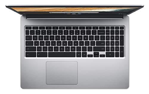 Acer Chromebook 315 (15,6 Zoll Full-HD IPS Touchscreen matt, 20mm flach, extrem lange Akkulaufzeit, schnelles WLAN, MicroSD Slot, Google Chrome OS) Silber - 7