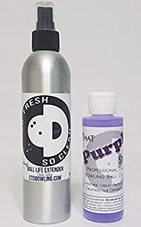 So Fresh & So Clean Bowling Ball Life Extender + That Purple Stuff Bowling Ball Cleaner