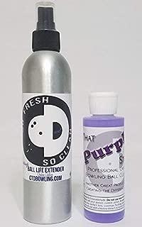 So Fresh & So Clean Bowling Ball Life Extender + That Purple Stuff Bowling Ball Cleaner